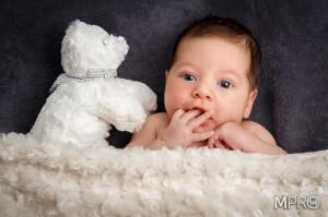 Luis sesión new born. Fotos bebé.